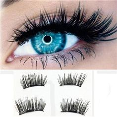 0e073869087 *2018 Makeup 1 Pair 3D M1026 netic False Eyelashes Lashes Reusable False  M1026 eyelash extension