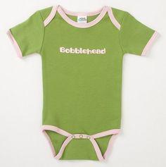 Bobblehead Onesie for Baby.