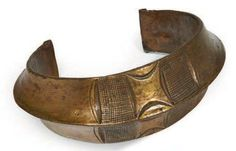Gabon | Old bronze anklet from the Kota or Fang people | Est. 800 - 1000€