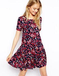 Pepe Jeans Dark Floral Dress