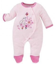 PYJAMA BEBE ROSE PASTEL - Pyjamas, dors-bien, grenouilleres - VETEMENTS : Bébé – Sucre d'Orge