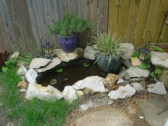 Small Koi Pond Ideas | Small koi pond in our backyard | Flickr - Photo Sharing!