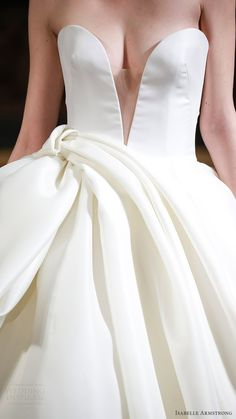 isabelle armstrong bridal spring 2017 strapless split sweetheart ball gown wedding dress (brett) zv