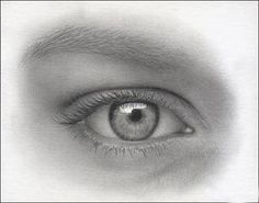 drawing eyes tutorial, free art lesson