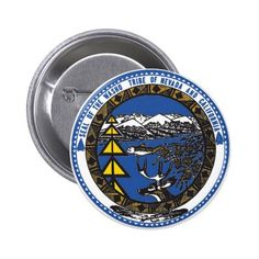 Washoe Tribe of Nevada & California Pinback Button