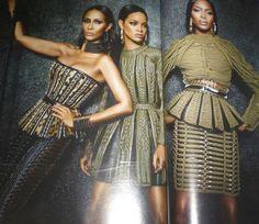 Iman, Rihanna, Naomi.