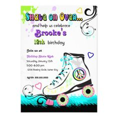 ==> reviews          Hip and Colorful Roller Skate Invitation           Hip and Colorful Roller Skate Invitation We have the best promotion for you and if you are interested in the related item or need more information reviews from the x customer who are own of them before please follow the li...Cleck Hot Deals >>> http://www.zazzle.com/hip_and_colorful_roller_skate_invitation-161633655253891520?rf=238627982471231924&zbar=1&tc=terrest
