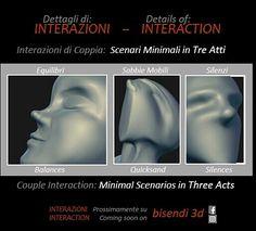 Interazioni & Trasformazioni :  Tre Sculture Minimali  Interactions & transformations: Three Minimal Sculptures  prossimamente su #bisendi3d coming soon on #bisendi #3d