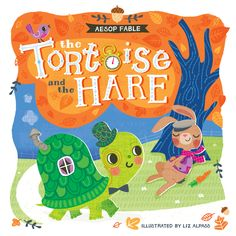 'The Tortoise and the Hare' book cover design | Liz Alpass | The Ink House | Make Art That Sells