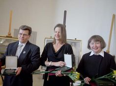 Ekenäs Museicentrum EKTA erhåller Schjerfbeckmedalj. (Svenska Kulturfonden; 14.2.2012)  #EKTAMuseumcenter #Schjerfbeck #HeleneSchjerfbeck #Museum #medal