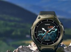 The military standard compliant WSD-F10 Smart Outdoor Watch has the ability to withstand dropping shocks, vibrations and other demands of rugged outdoor use.
