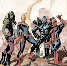 I want some Captain Marvel and War Machine fanart