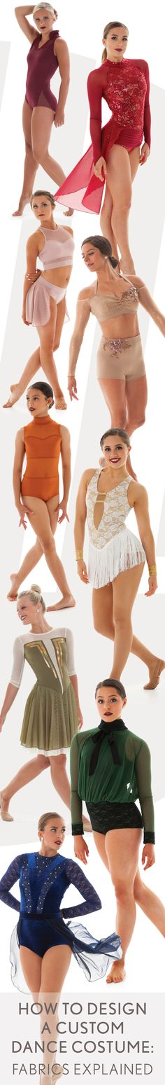 On the Blog: How to Design a Custom Dance Costume: Fabrics Explained