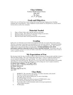 POPULAR! Generic High School Syllabus Template can be used for ANY ...