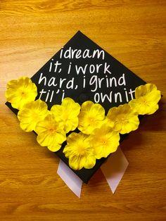 My grad cap! Beyoncé inspired.