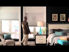 QMotion Automated Shades - Advanced Shading Systems Home page curtain rods that…