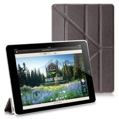 Smooth PU Leather Hexagon Stand Cover Case for iPad Air #ipadcase #ipadair #leathercase #standcase #hexagoncover #photooftheday #bestoftheday #bestipadcase #cute #lovelycase #popularcase #ipadcover #pinterest #wholesaleprice #wholesalecases $9.90