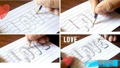 Aprender a dibujar letras de todos los estilos, paso a paso