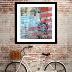 Discover «Statue of Liberty», Numbered Edition Fine Art Print by Andrea Haase - From 20€ - Curioos