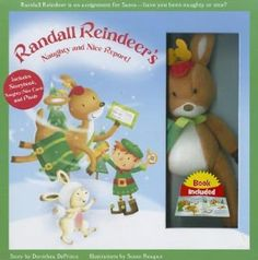 ... Naughty and Nice Report With Naughty/Nice Cards, Hardcover Story Book