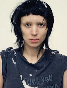 Lisbeth Salander...one of the coolest fictional characters ever