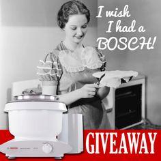 Win a BOSCH Universal Plus Mixer