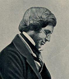 Wallace en 1853 a los 30 años en vísperas de salir para Malasia.  Foto. Mr. Sims