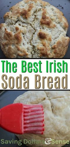 Five Approaches To Economize Transforming Your Kitchen Area Irish Soda Bread This Traditional Irish Soda Bread Recipe Can Be Made With Raisins Or Without Depending On It You Want Your Bread To Be Sweet Or Now. Irish Bread, Irish Soda Bread Recipe, Traditional Irish Soda Bread, Bread Recipes, Cooking Recipes, Muffin Recipes, Best Homemade Bread Recipe, Irish Recipes, Irish Meals
