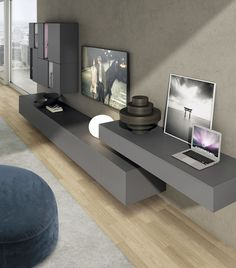 8 Timely Cool Tips: Black Floating Shelf Beds industrial floating shelves.Floating Shelves Bookcase Nooks floating shelf tv stand home.Floating Shelves Under Tv Couch. Living Room White, White Rooms, New Living Room, Living Room Kitchen, Living Room Modern, Living Room Designs, Living Room Decor, Living Room Shelves, Living Room With Fireplace