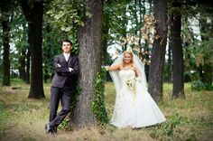 wedding, forest, creative photography