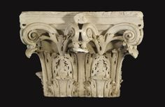 A MARBLE CORINTHIAN PILASTER CAPITAL, ROMAN IMPERIAL, CIRCA LATE 2ND/EARLY 3RD CENTURY A.D.