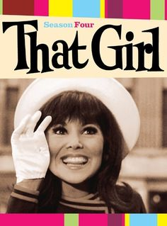 """Marlo Thomas (Danny Thomas' daughter) in """"That Girl"""", 1960s TV Show"""