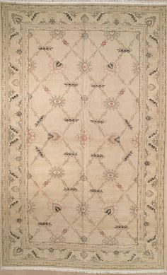 This beautiful Handmade Knotted Rectangular rug is approximately 10 x 16 New Contemporary area rug from our large collection of handmade area rugs with European style from Romania/Bulgaria/Albania with Wool
