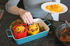 Mexican Stuffed Peppers - livelovepasta