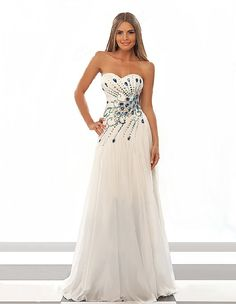 Cheap dress neck, Buy Quality dress shaper directly from China dresses bridal Suppliers:2014 Hot sale New ALL SZ Long White Peacock Rhinestone Wedding Bridal Gowns Pageant Dress Custom Size:6-8-10-12-1