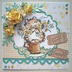 Passion for Papercraft: Penny Black Saturday #186 - Floral Frenzy