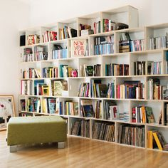 Lots of book shelves