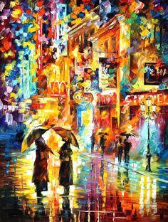 RAINY ENCOUNTER by Leonidafremov.deviantart.com on @deviantART