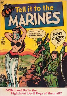 Comic Book Cover For Tell It to the Marines #16