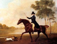 1780s   George IV when Prince of Wales by George Stubbs.