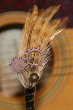 Gear and Sprocket Boutonniere Corsage by SurroundingsOnline, $19.95