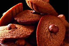 Recette de madeleines au chocolat et aux noisettes de Robuchon par Sophie