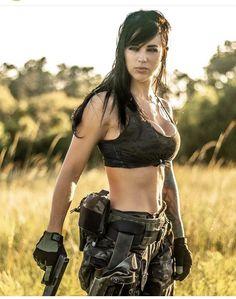 Airsoft, Alex Zedra, Gunslinger Girl, Female Cop, Police, Hunting Girls, Tough Girl, Military Girl, Warrior Girl