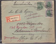 GERMANY REGISTERED LAKEWOOD OHIO REDIRECTED 1921