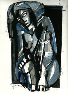 gesto: mulheres azuis - 15