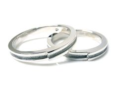 AMBRACE PT900 platinum ring stylish flat line 3mm プラチナ ペアリング スタイリッシュ フラット ライン