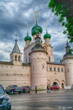 The Kremlin Gates. Rostov-the-Great. - Rostov, Yaroslavskaya Oblast, Russia