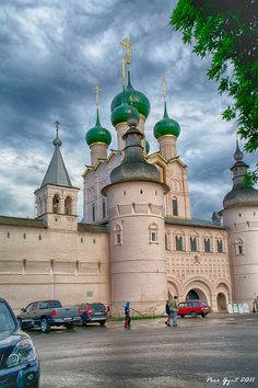 The Kremlin Gates. Rostov-the-Great. - Rostov, Yaroslavskaya Oblast, Russia