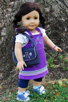 purple ruthie  by Angelasews, via Flickr