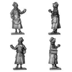 Cantinera (Manufactura Histórica de los Soldados de Plomo) Subido desde www.elgrancapitan.org
